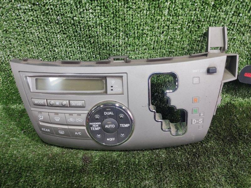 Блок управления климат-контролем Toyota Estima GSR50 2GRFE 2006 (б/у)