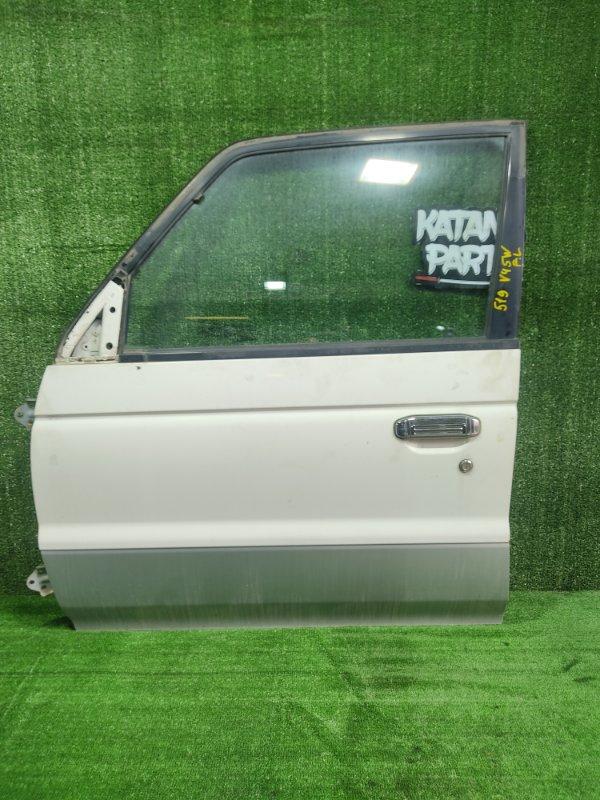 Дверь Mitsubishi Pajero V45W 6G74 1997 передняя левая (б/у)