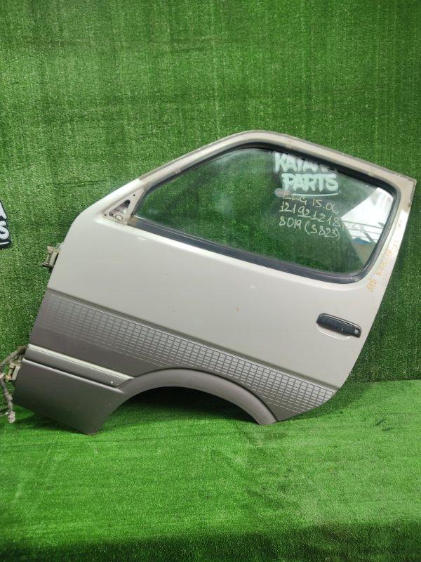 Дверь Toyota Hiace KZH106W 1KZTE 1997 передняя левая (б/у)