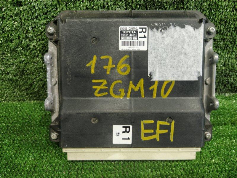 Блок управления efi Toyota Isis ZGM10 2ZRFAE 2009 (б/у)