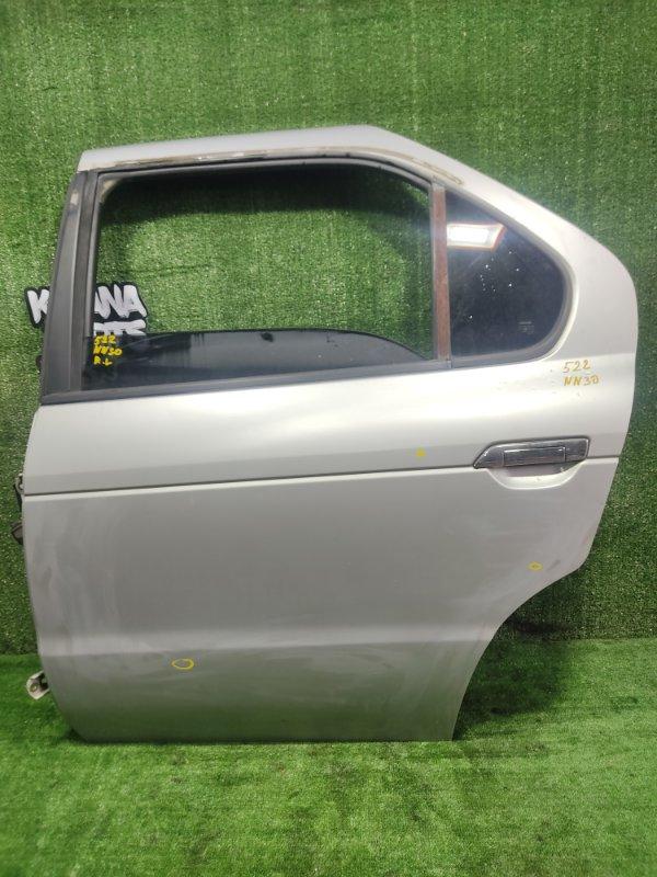 Дверь Nissan R'nessa NN30 SR20DET 1998 задняя левая (б/у)