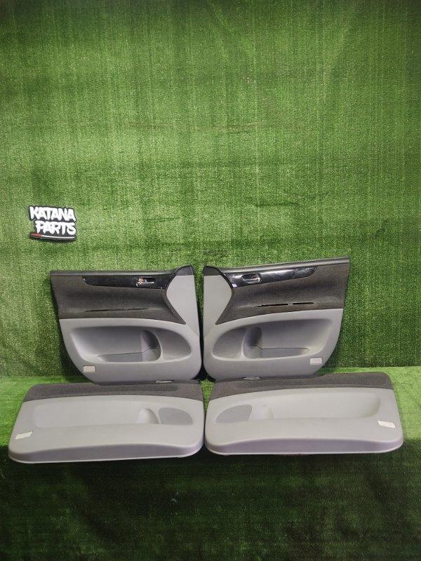 Обшивка дверей Toyota Ipsum ACM26 2AZFE 2002 (б/у)