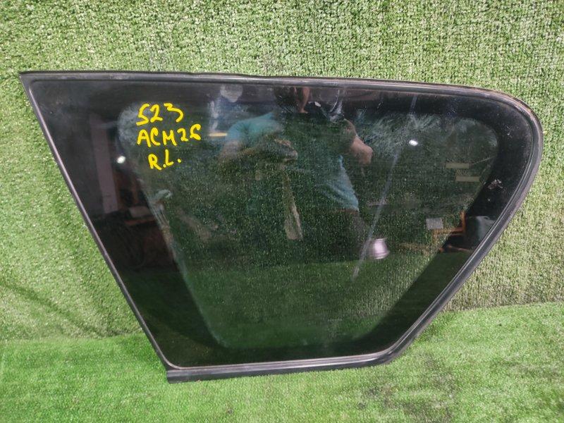 Стекло собачника Toyota Ipsum ACM26 2AZFE 2002 заднее левое (б/у)