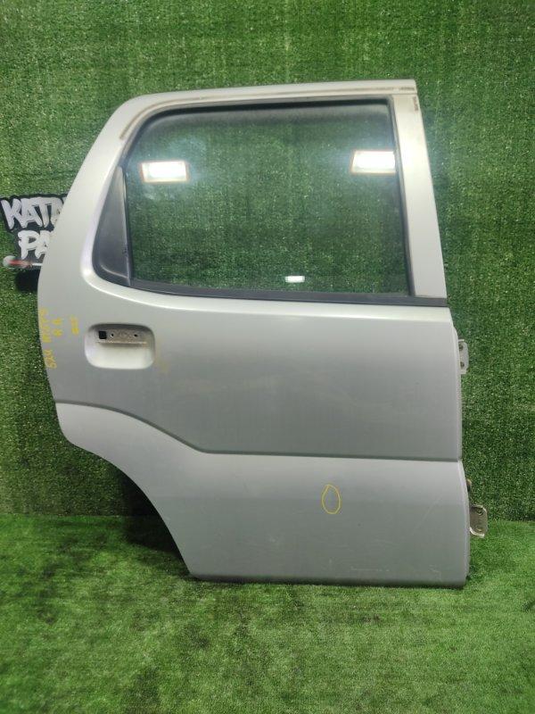 Дверь Suzuki Swift HT51S M13A 2000 задняя правая (б/у)