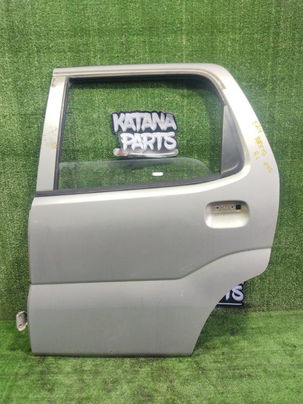 Дверь Suzuki Swift HT51S M13A 2000 задняя левая (б/у)