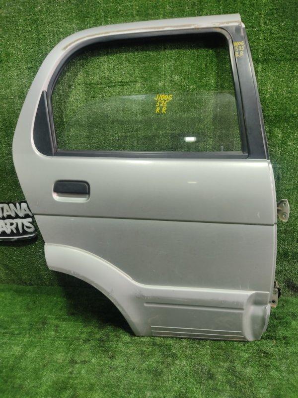 Дверь Daihatsu Terios J100G HCEJ 1998 задняя правая (б/у)