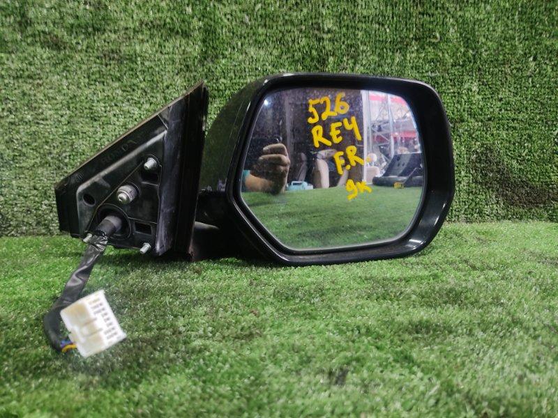 Зеркало Honda Cr-V RE4 K24A 2006 переднее правое (б/у)