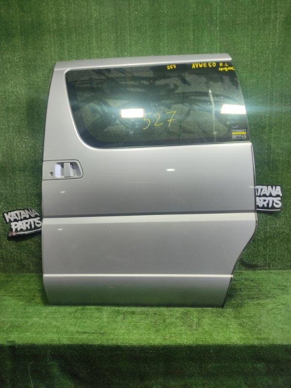 Дверь Nissan Elgrand AVWE50 QD32ETI 1998 задняя левая (б/у)