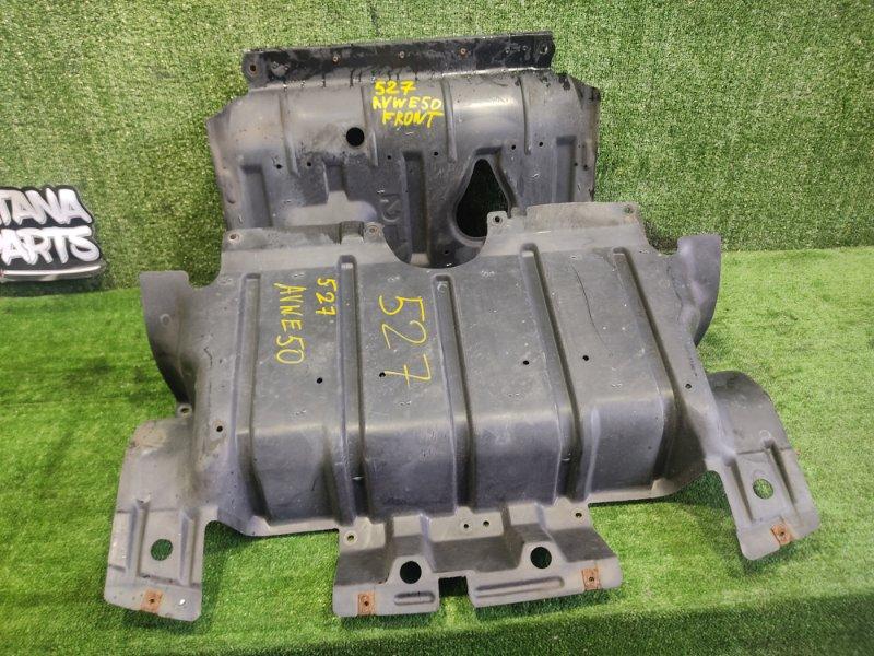 Защита двигателя Nissan Elgrand AVWE50 QD32ETI 1998 передняя (б/у)