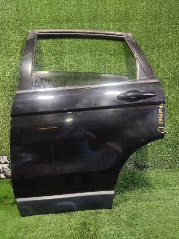 Дверь Honda Cr-V RE4 K24A 2006 задняя левая (б/у)