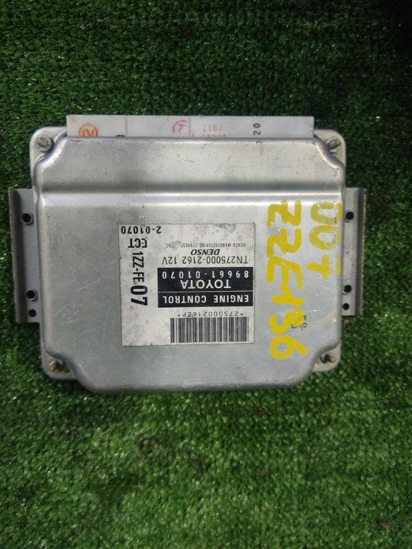 Блок управления efi Toyota Voltz ZZE136 1ZZFE 2002 (б/у)