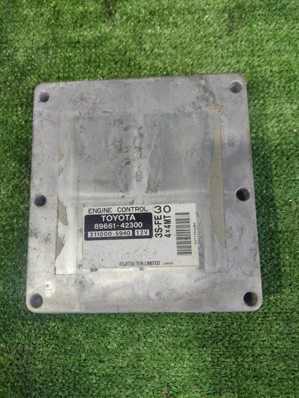 Блок управления efi Toyota Rav4 SXA10 3SFE (б/у)