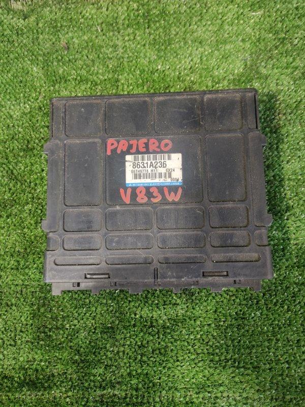 Блок управления efi Mitsubishi Pajero V83W 6G72 (б/у)