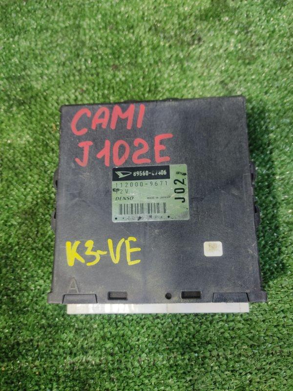 Блок управления efi Toyota Cami J102E K3VE (б/у)