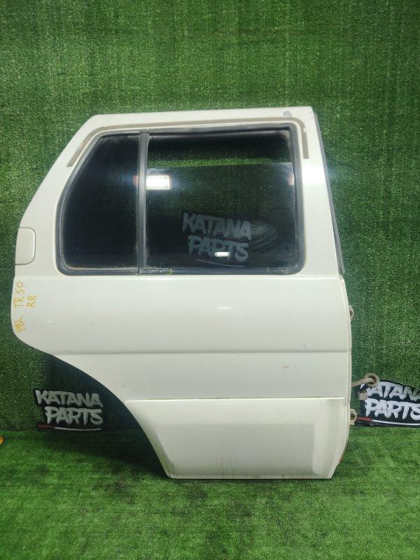 Дверь Nissan Terrano TR50 ZD30DDTI 2000 задняя правая (б/у)