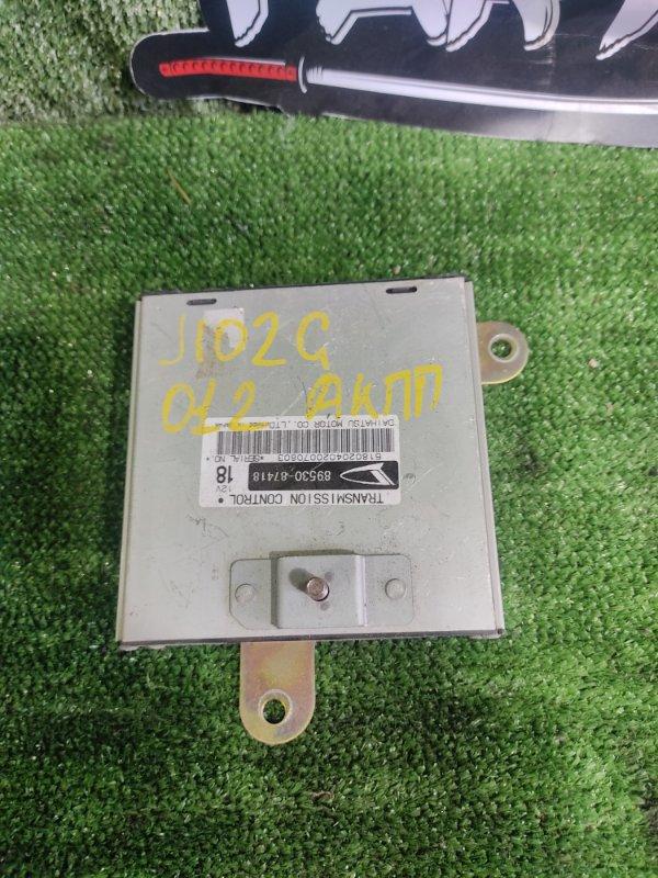 Блок управления акпп Daihatsu Terios J102G K3VET 2002 (б/у)