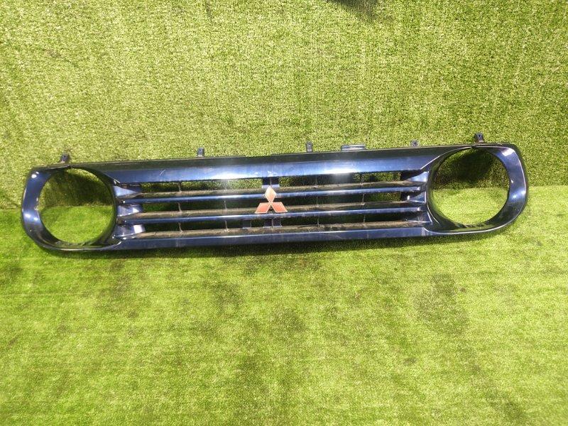 Решетка радиатора Mitsubishi Pajero Junior H57A 4A31 1998 (б/у)