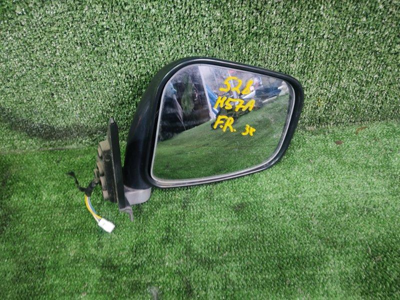 Зеркало Mitsubishi Pajero Junior H57A 4A31 1998 переднее правое (б/у)