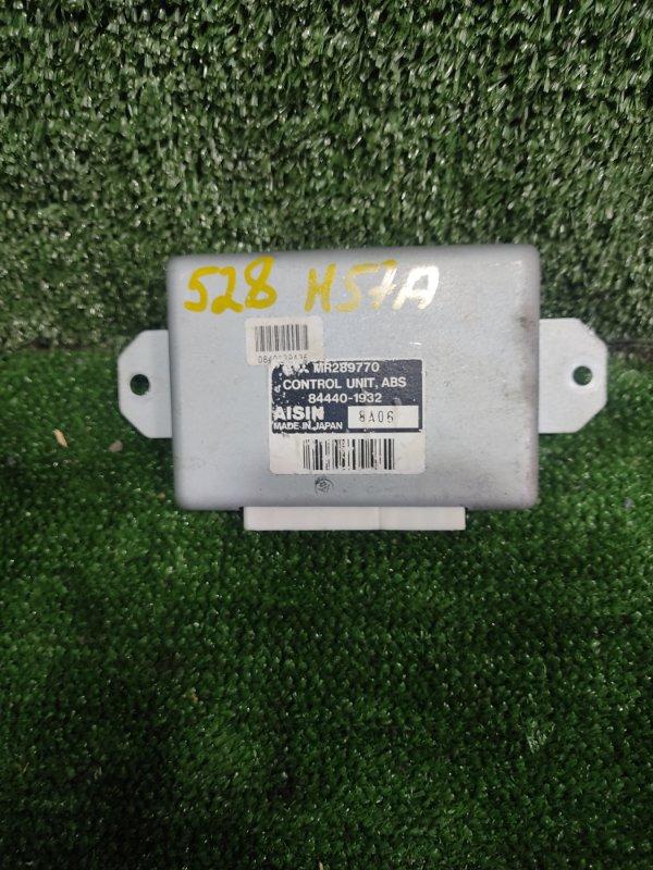 Блок управления abs Mitsubishi Pajero Junior H57A 4A31 1998 (б/у)