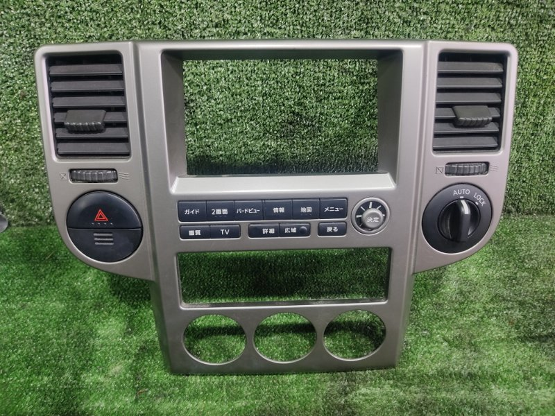 Консоль магнитофона Nissan X-Trail PNT30 SR20VET 2005 (б/у)
