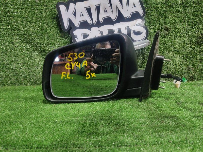 Зеркало Mitsubishi Galant Fortis CY4A 4B11 2008 переднее левое (б/у)