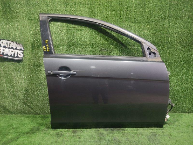 Дверь Mitsubishi Galant Fortis CY4A 4B11 2008 передняя правая (б/у)