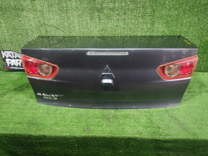 Крышка багажника Mitsubishi Galant Fortis CY4A 4B11 2008 (б/у)