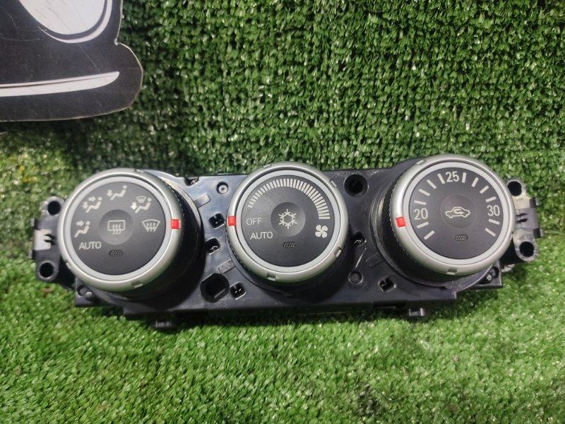 Блок управления климат-контролем Mitsubishi Galant Fortis CY4A 4B11 2008 (б/у)