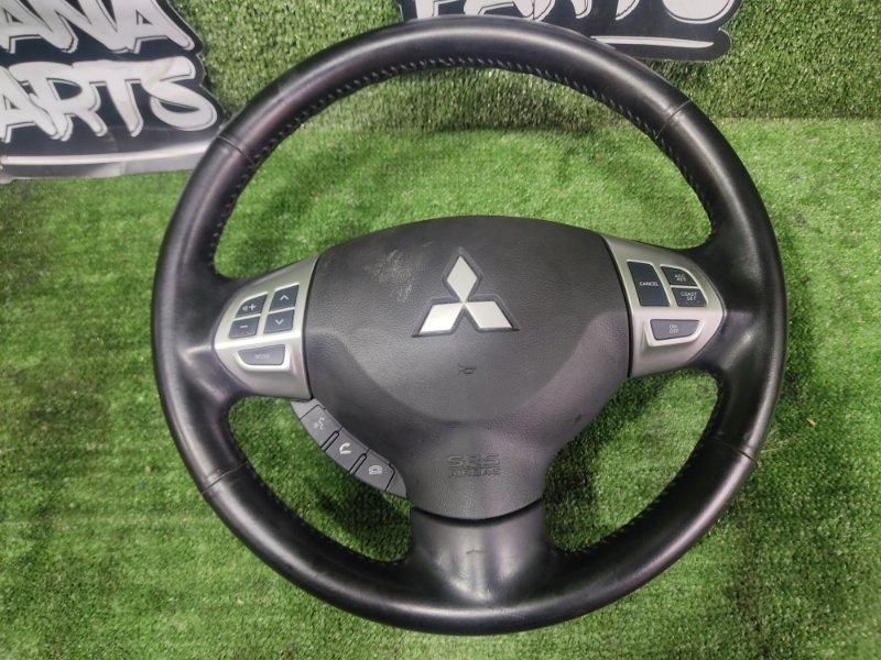 Руль с airbag Mitsubishi Galant Fortis CY4A 4B11 2008 (б/у)