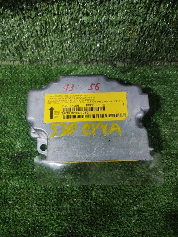 Блок управления airbag Mitsubishi Galant Fortis CY4A 4B11 2008 (б/у)