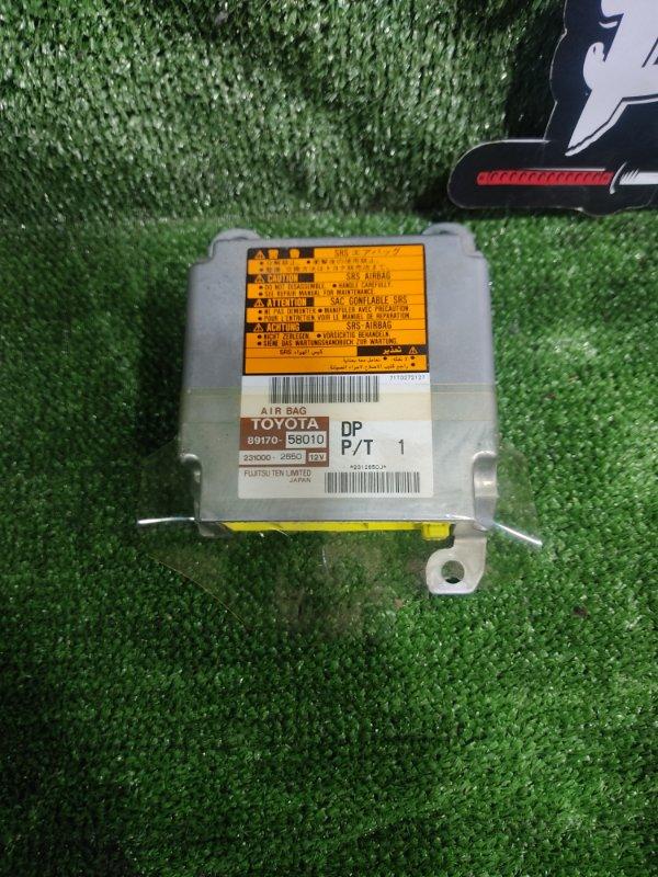 Блок управления airbag Toyota Alphard ANH15 2AZFE 2002 (б/у)