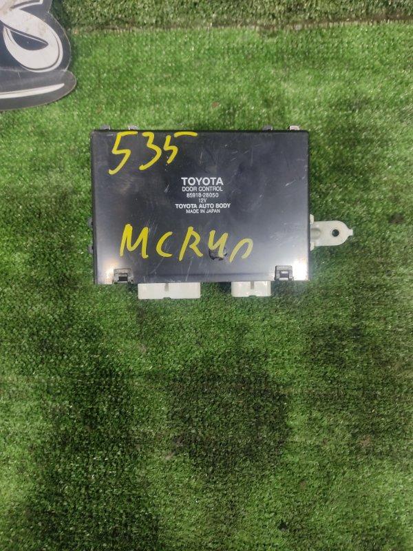 Блок управления дверьми Toyota Estima MCR40 1MZFE 2000 (б/у)