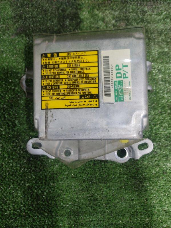 Блок управления airbag Toyota Estima MCR40 1MZFE 2000 (б/у)
