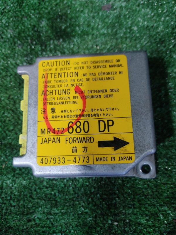 Блок управления airbag Mitsubishi Rvr N64WG 4G64 2000 (б/у)
