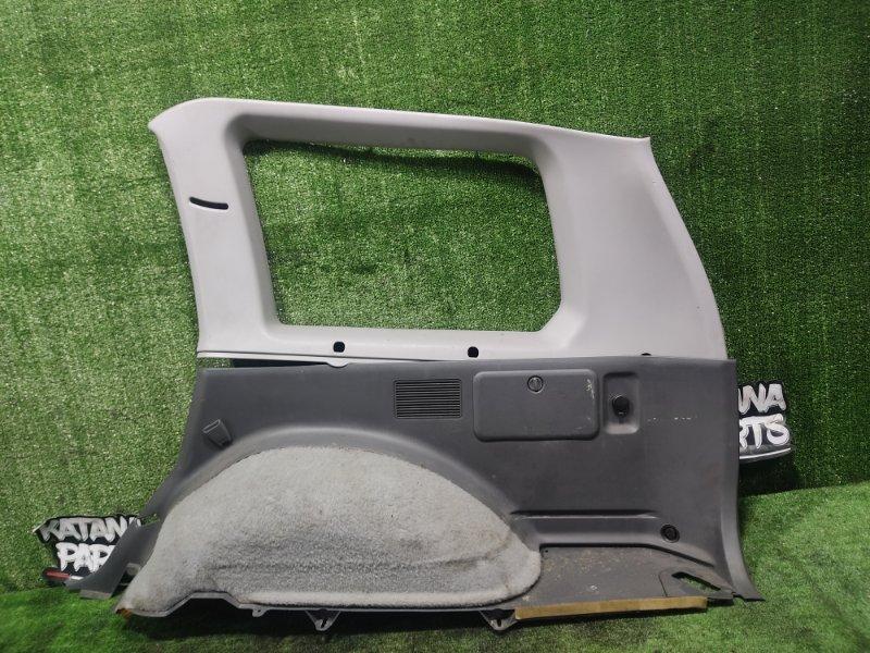 Обшивка багажника Mitsubishi Challenger K97WG 4M40T 1997 задняя правая (б/у)