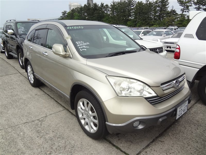 Автомобиль HONDA CR-V RE4 K24A 2006 года в разбор