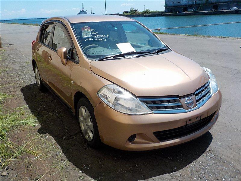 Автомобиль NISSAN TIIDA NC11 HR15DE 2008 года в разбор