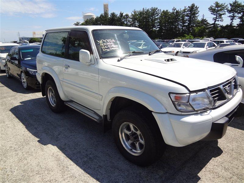 Автомобиль NISSAN SAFARI WYY61 RD28T 1997 года в разбор