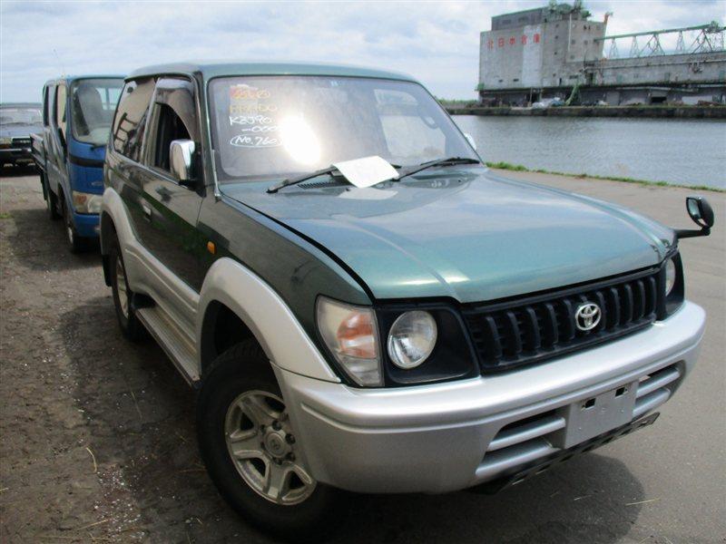 Автомобиль TOYOTA LAND CRUISER PRADO KZJ90 1KZTE 1996 года в разбор