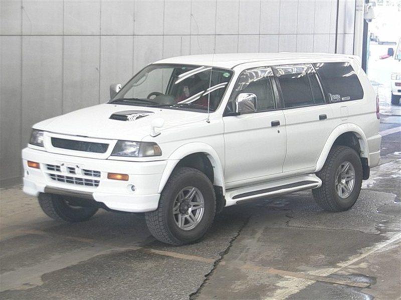 Автомобиль MITSUBISHI CHALLENGER K97 4M40T 1997 года в разбор