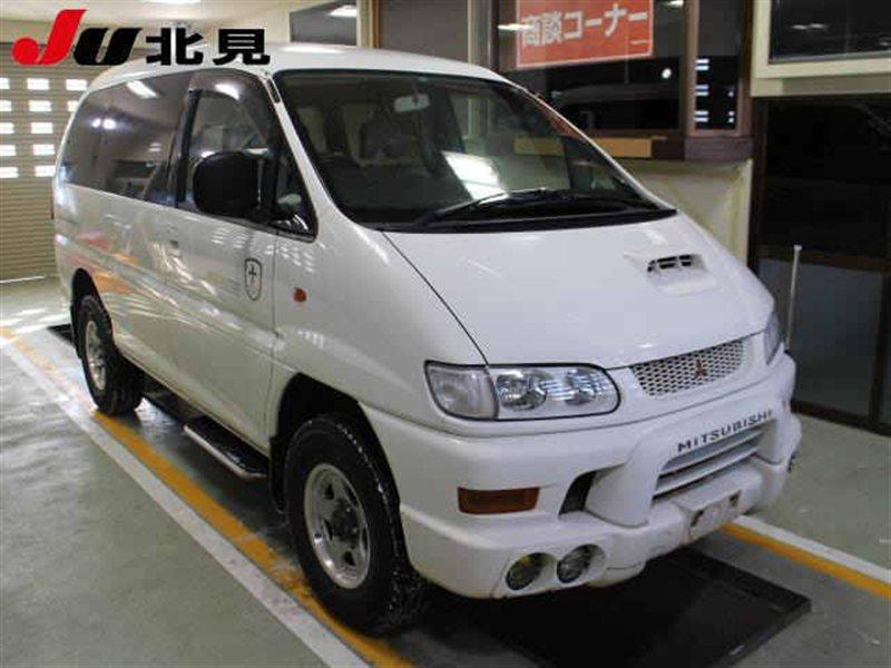 Автомобиль MITSUBISHI DELICA PE8W 4M40TE 1999 года в разбор