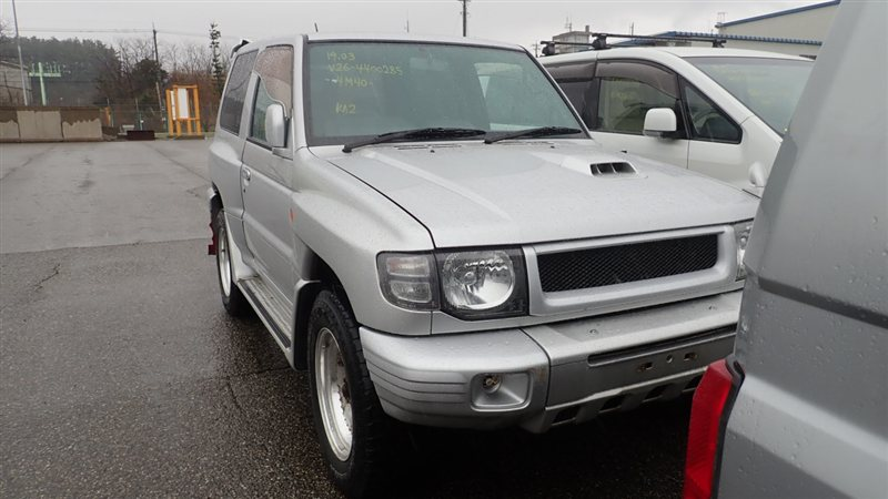 Автомобиль MITSUBISHI PAJERO V26WG 4M40TE 1997 года в разбор