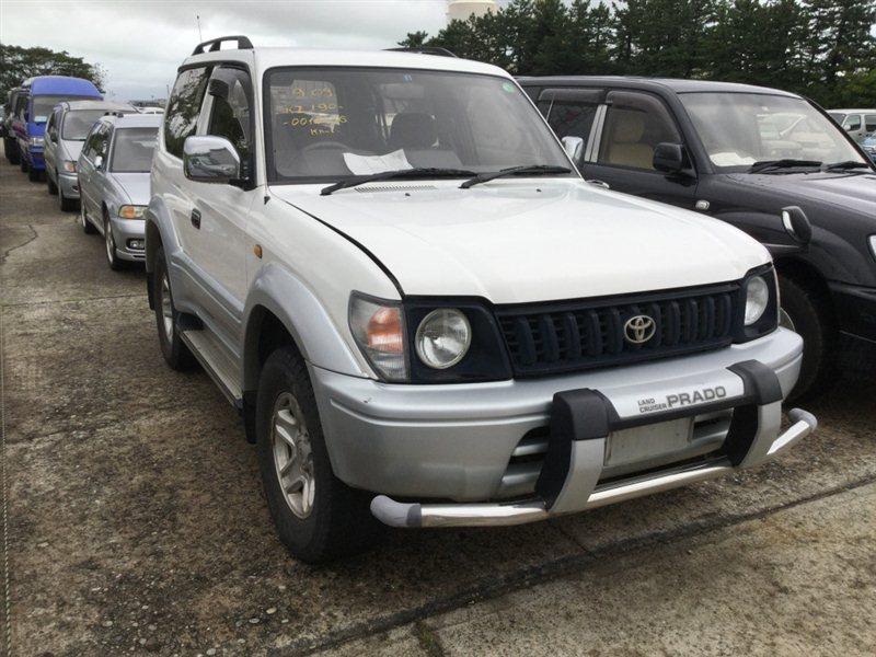 Автомобиль TOYOTA LAND CRUISER PRADO KZJ90 1KZTE 1997 года в разбор