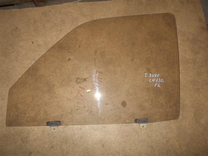 Стекло Toyota Surf LN130 переднее левое