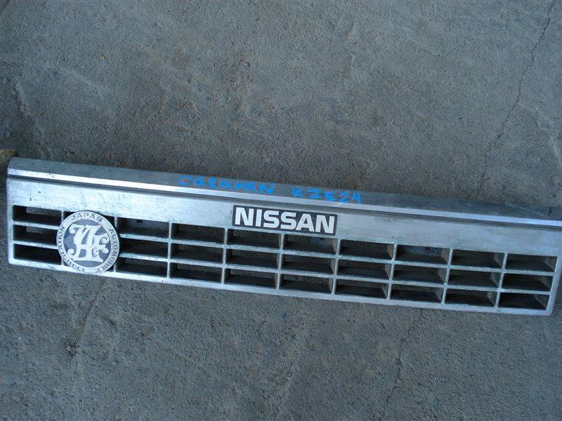 Решетка радиатора Nissan Caravan KZE24