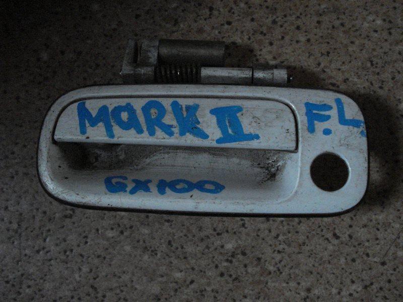 Ручка двери внешняя Toyota Markii GX100 передняя левая