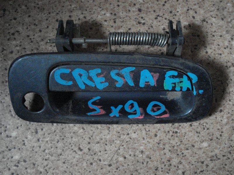Ручка двери внешняя Toyota Cresta SX90 передняя правая