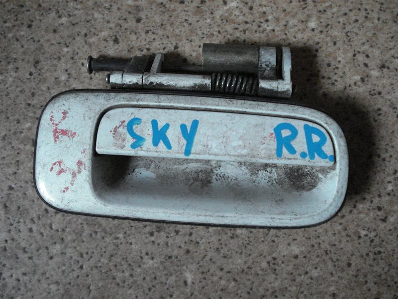 Ручка двери внешняя Nissan Skyline задняя правая