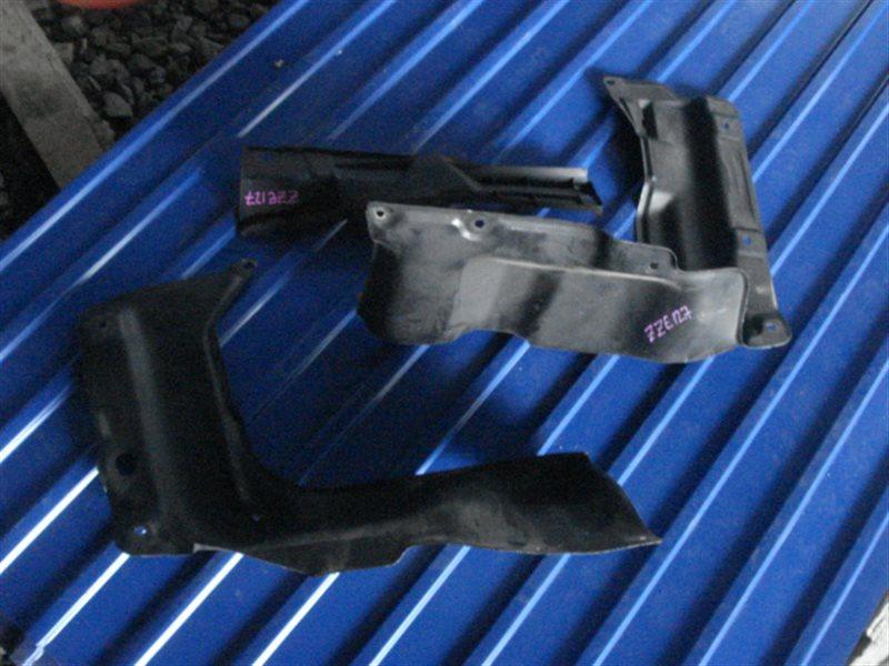 Защита двигателя Toyota Will Vs ZZE127 передняя