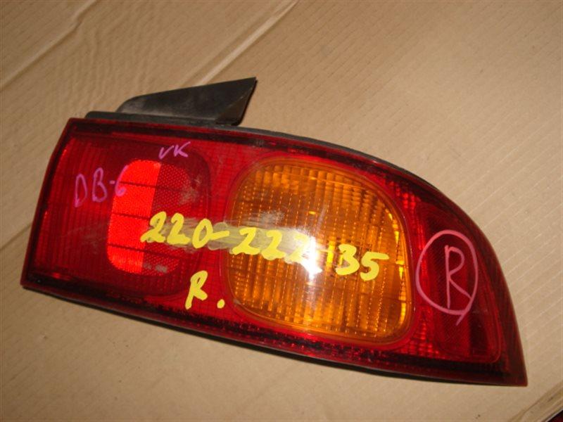 Стоп Honda Integra DB6 1997 задний правый